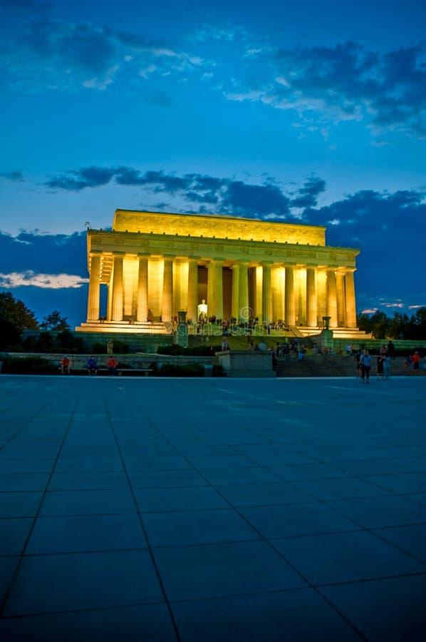 Lincoln Memorial Evening image libre de droits