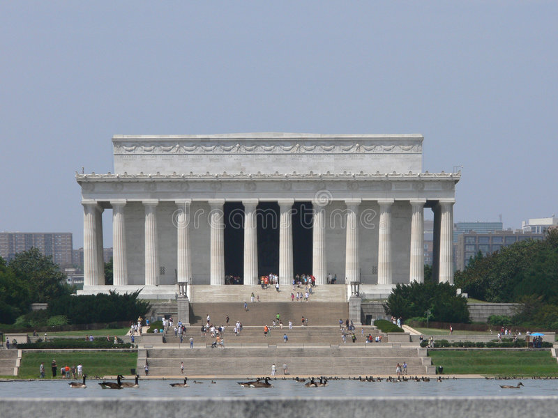 Download Lincoln Memorial Exterior View Stock Photo - Image of historic, abraham: 1054020