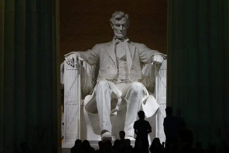 Lincoln Memorial Part 2 16 photographie stock