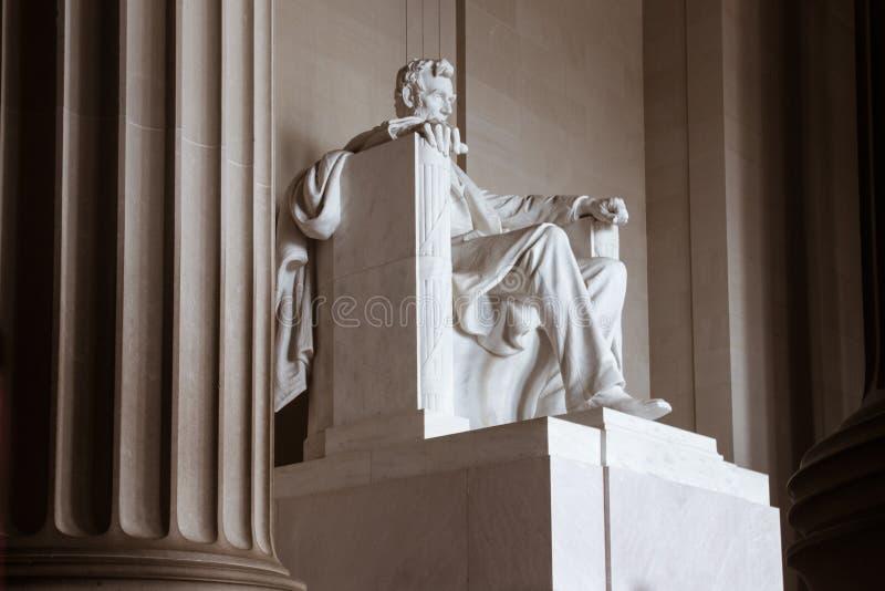 Lincoln Memorial, Side view royaltyfria bilder