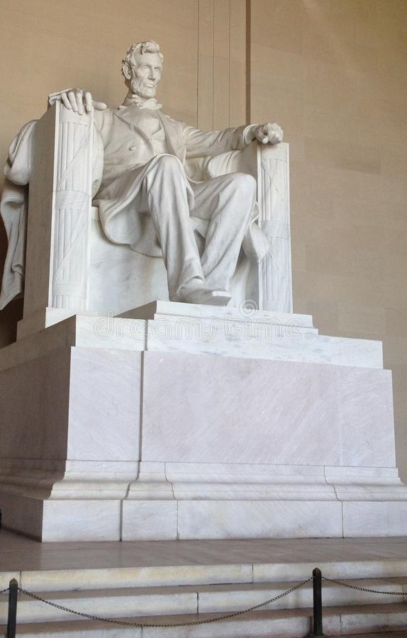 Lincoln Memorial Statue lizenzfreie stockfotos