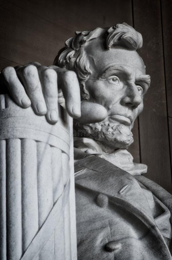 Lincoln Memorial Statue stock image