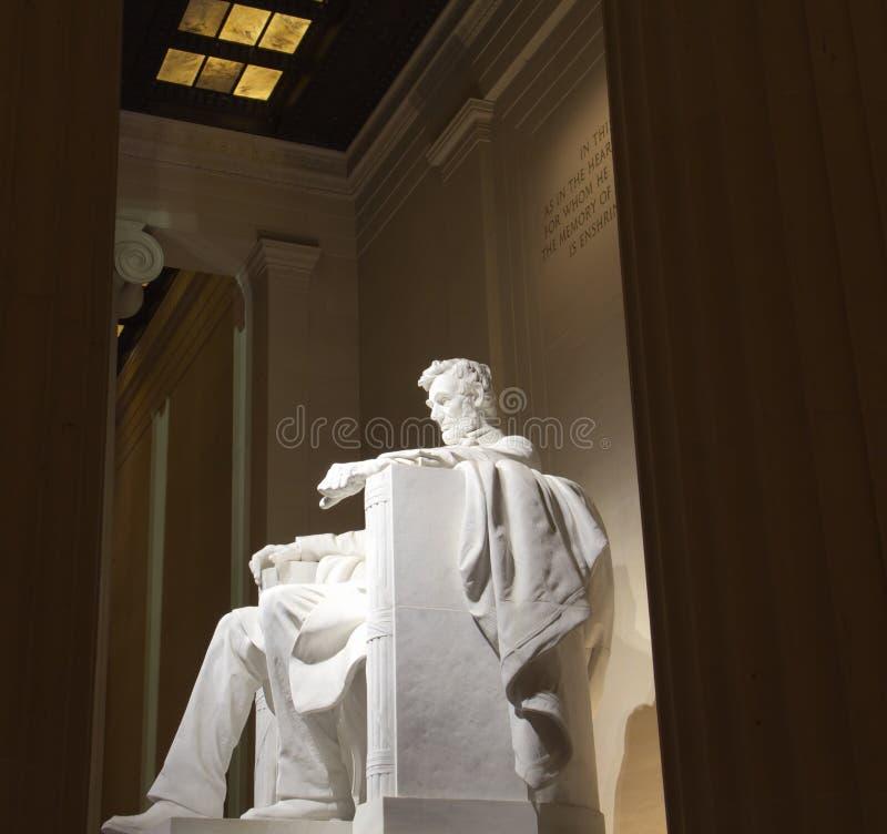 Lincoln memorial statue royalty free stock photos