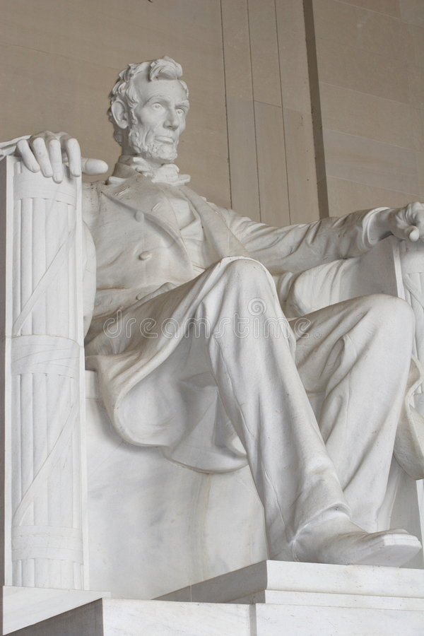 Lincoln Memorial - Washington royalty free stock photos