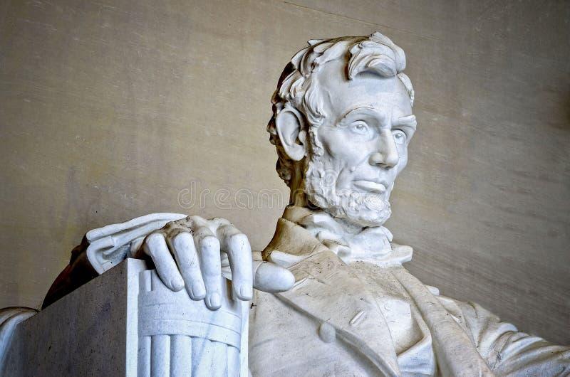 Lincoln Memorial, Washington DC immagine stock libera da diritti