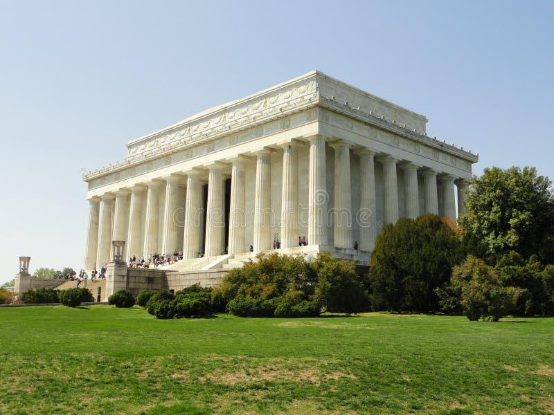 Lincoln Memorial - Washington DC imagen de archivo libre de regalías