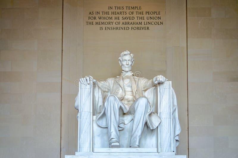 Lincoln Memorial, Washington DC Royalty Free Stock Images