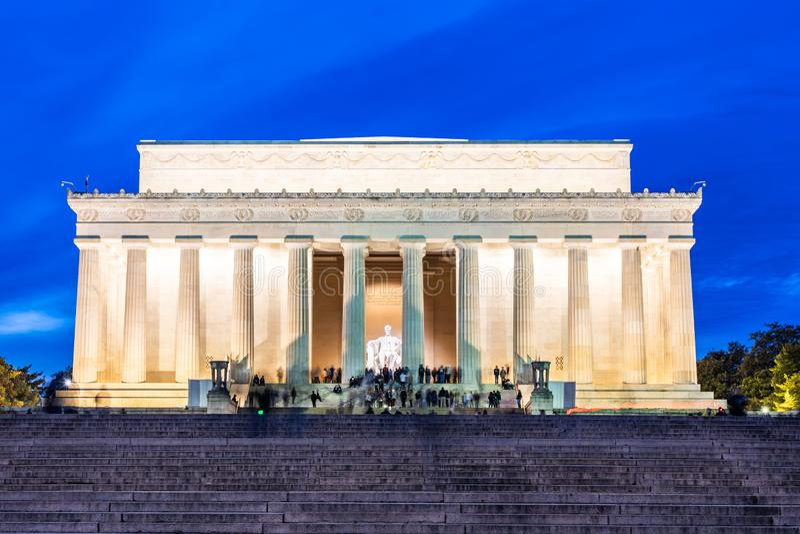 Lincoln Memorial Washington gelijkstroom de V.S. stock foto's
