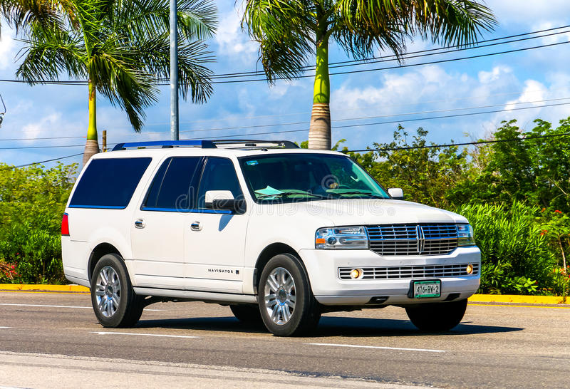 Lincoln Navigator photo stock