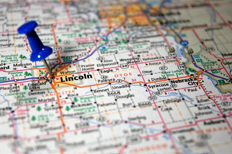 Lincoln, Nebraska stockbilder