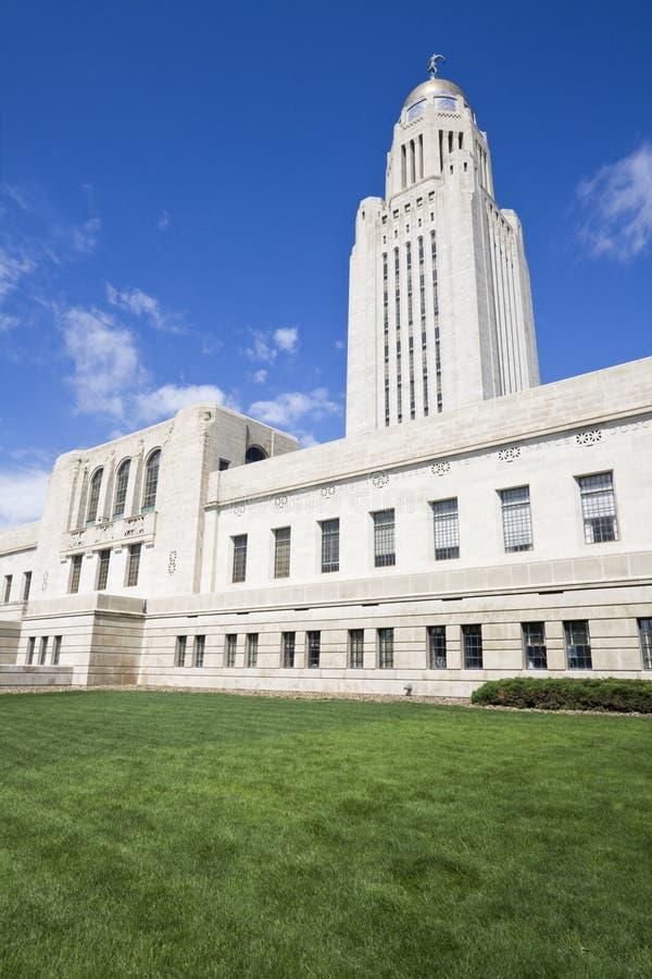 Lincoln, Nebraska - het Capitool van de Staat stock foto