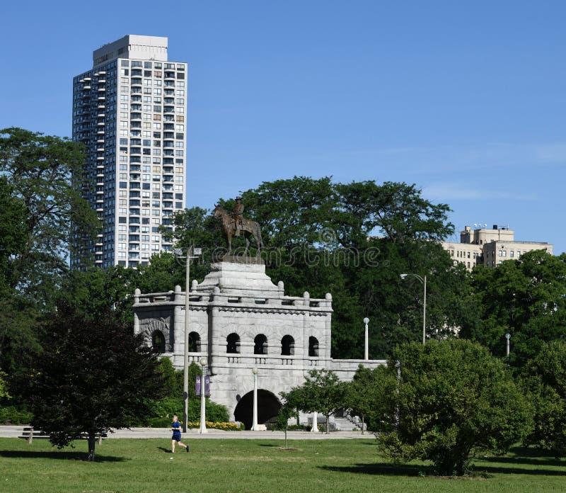 Lincoln Park no verão imagem de stock