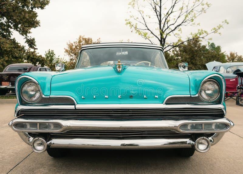 1956 Lincoln Premiere Convertible Classic Car royalty-vrije stock foto