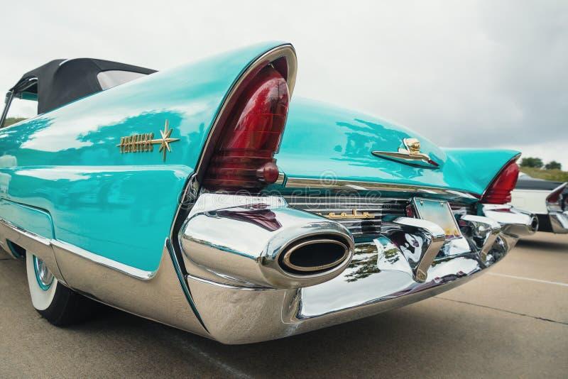 1956 Lincoln Premiere Convertible Classic Car royalty-vrije stock foto's