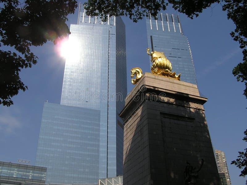 Lincoln quadratisches NYC lizenzfreies stockfoto