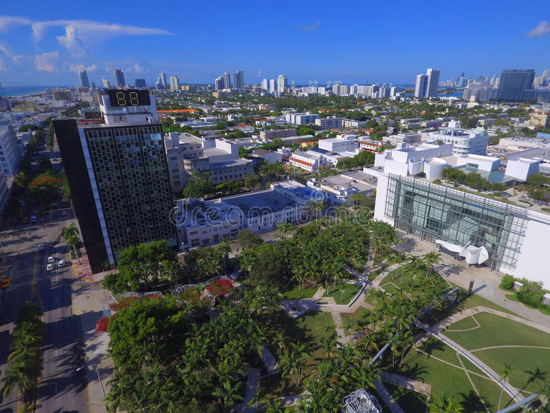 Lincoln Road Miami Beach stockbild