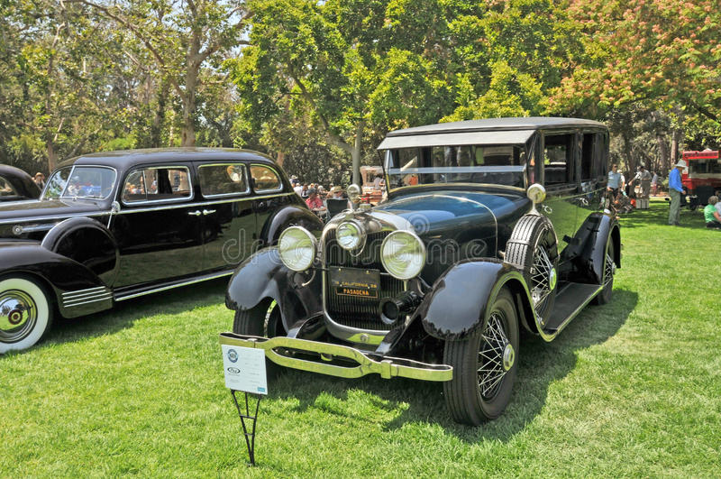 Lincoln Seven Passenger Limousine royalty-vrije stock foto's