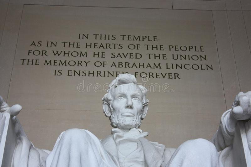 Lincoln Statue imagens de stock royalty free