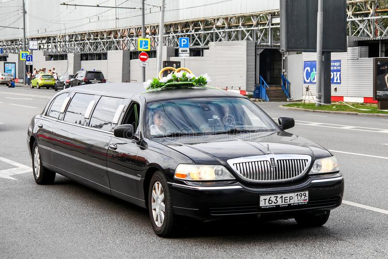 Lincoln Town Car photographie stock