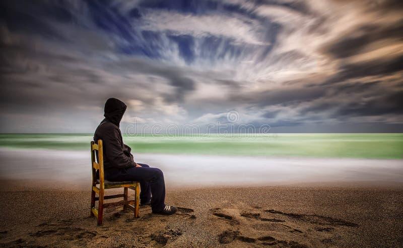 Linda praia de Lara em Antalya, Turquia imagens de stock