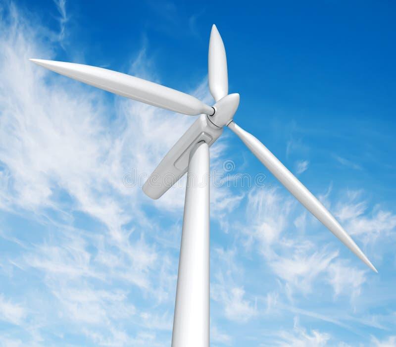 Linda turbinen vektor illustrationer