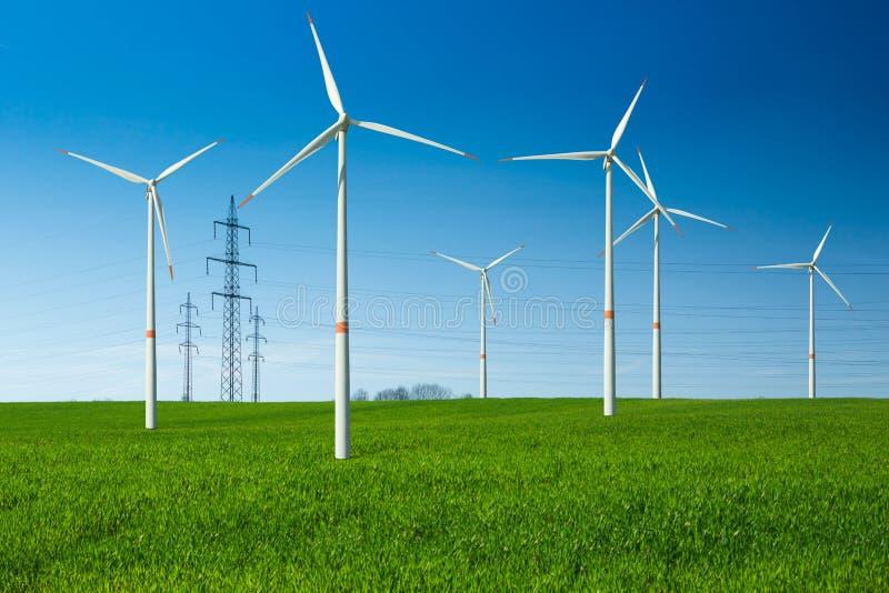 Linda turbiner och att binda royaltyfri foto