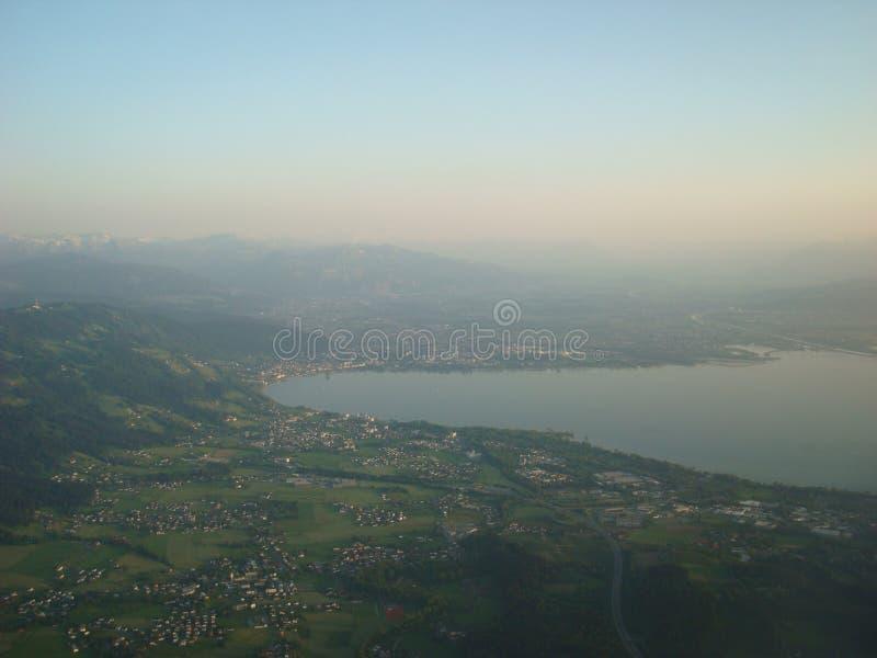 Lindau от неба стоковая фотография