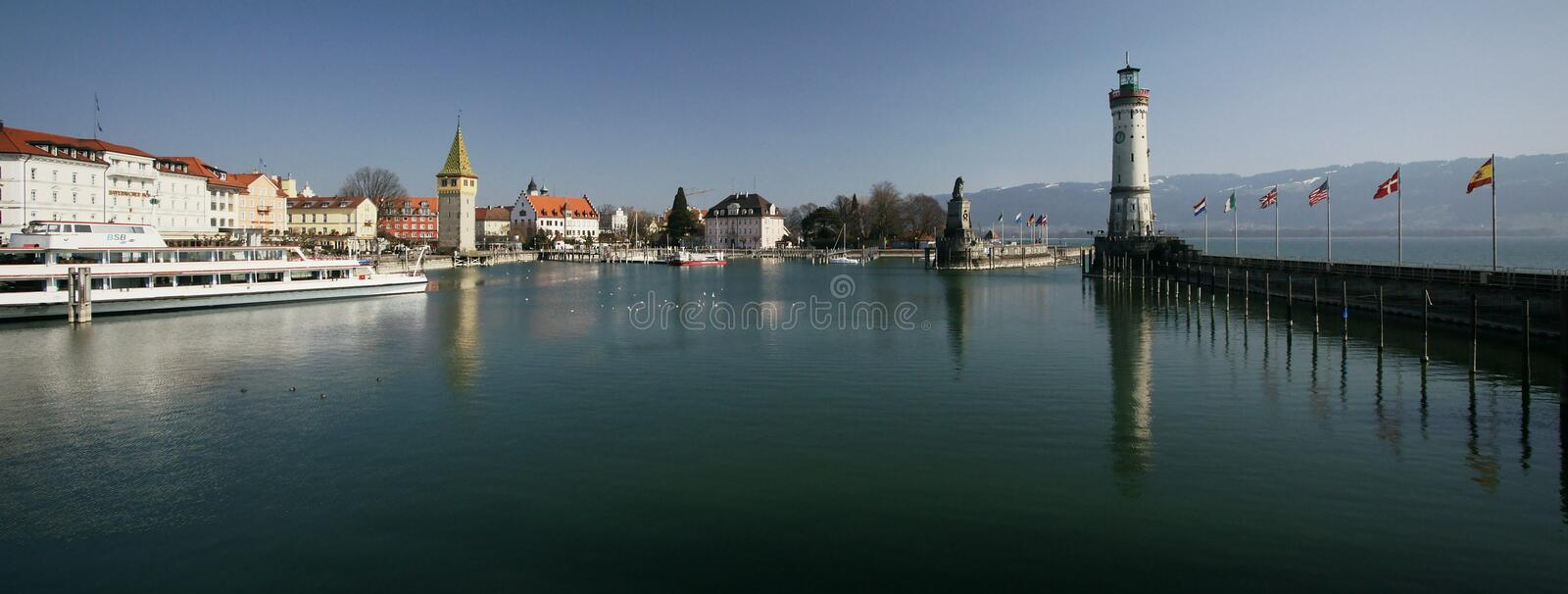 Download Lindau editorial photo. Image of lighthouse, water, tower - 18676351