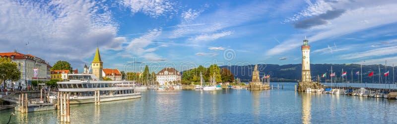 Lindau, Bodensee immagini stock