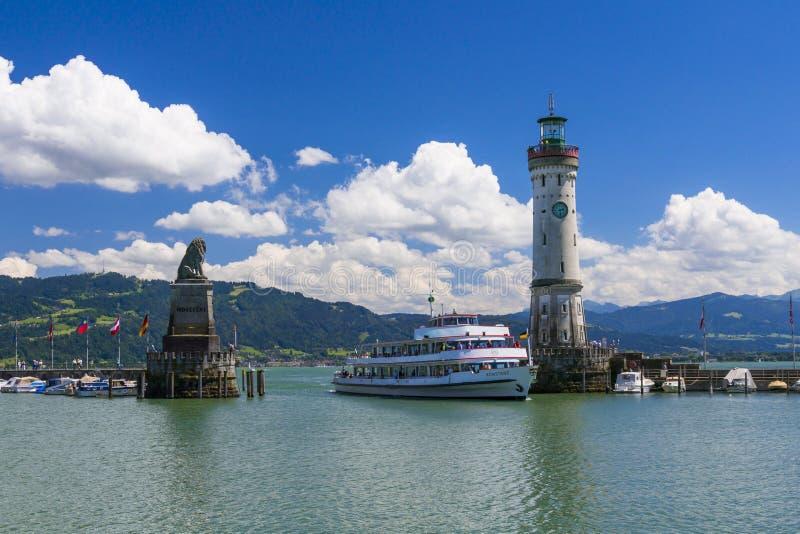 Lindau chez le Lac de Constance, Allemagne photos stock