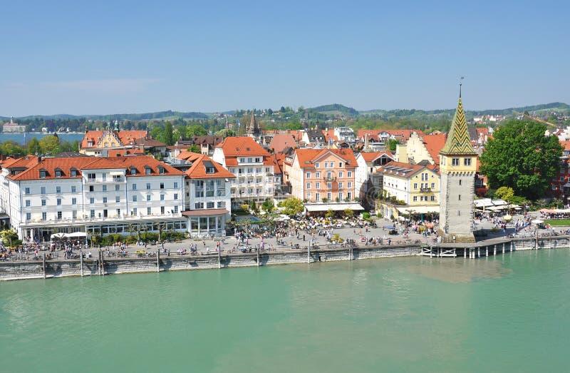 Lindau wyspa, Niemcy obraz royalty free