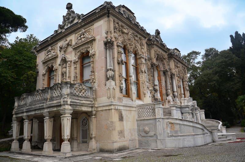 Linden Pavilion, mooiste het plattelandsvilla van de ottomane royalty-vrije stock foto