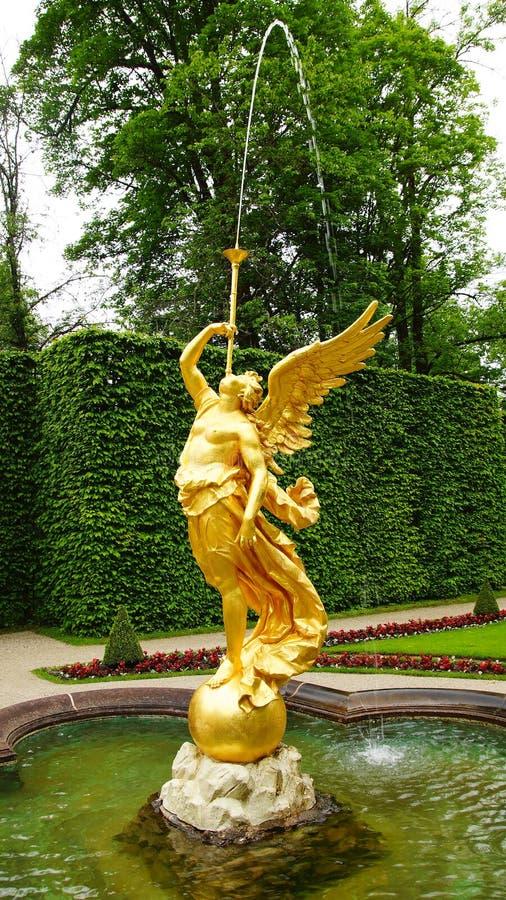 Linderhofpaleis. royalty-vrije stock afbeelding