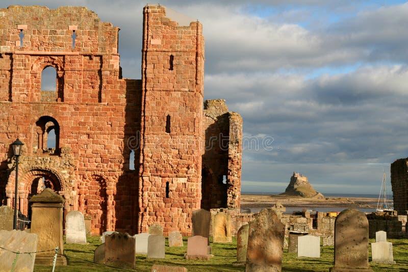 Lindisfarne. fotos de archivo