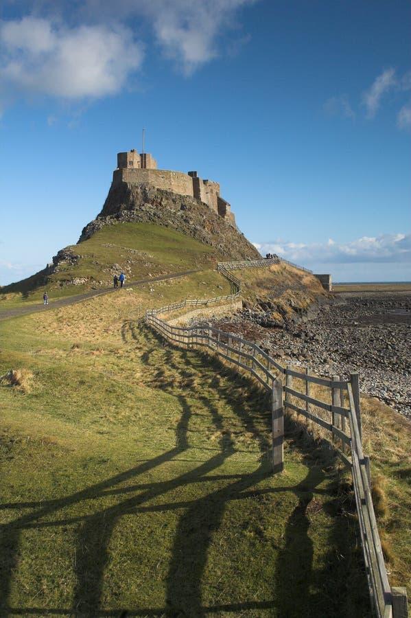 Lindisfarne stock photography