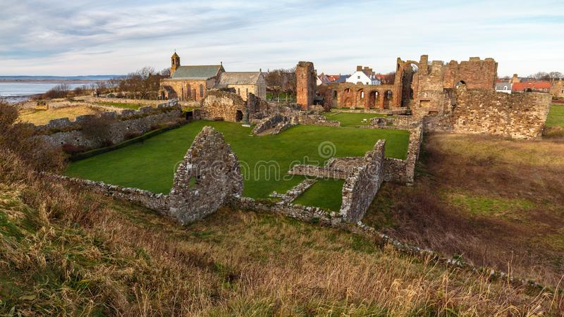 Ancient Dreams & Mysteries of Lindisfarne stock images