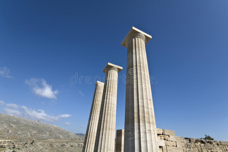 Download Lindos Ancient Acropolis At Rhodes Island Royalty Free Stock Photography - Image: 13111837