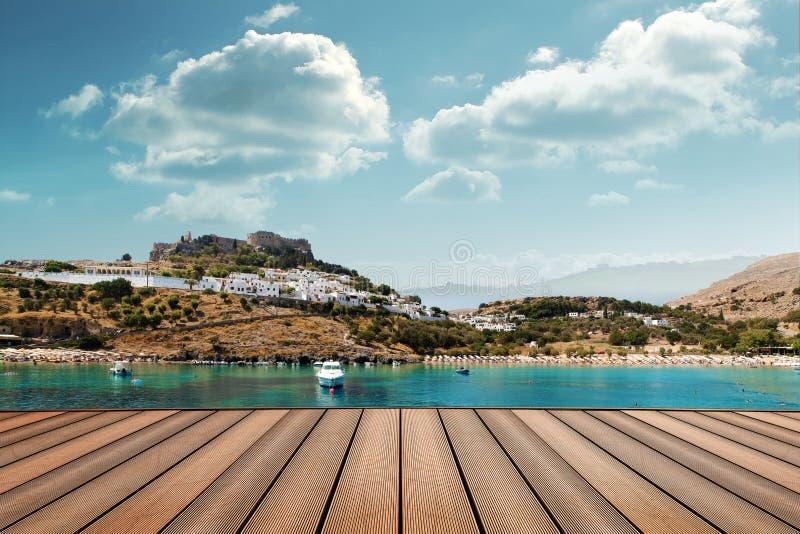 Lindos - Greece royalty free stock photos