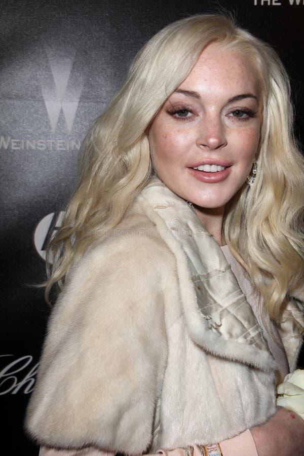 Lindsay lohan στοκ φωτογραφίες