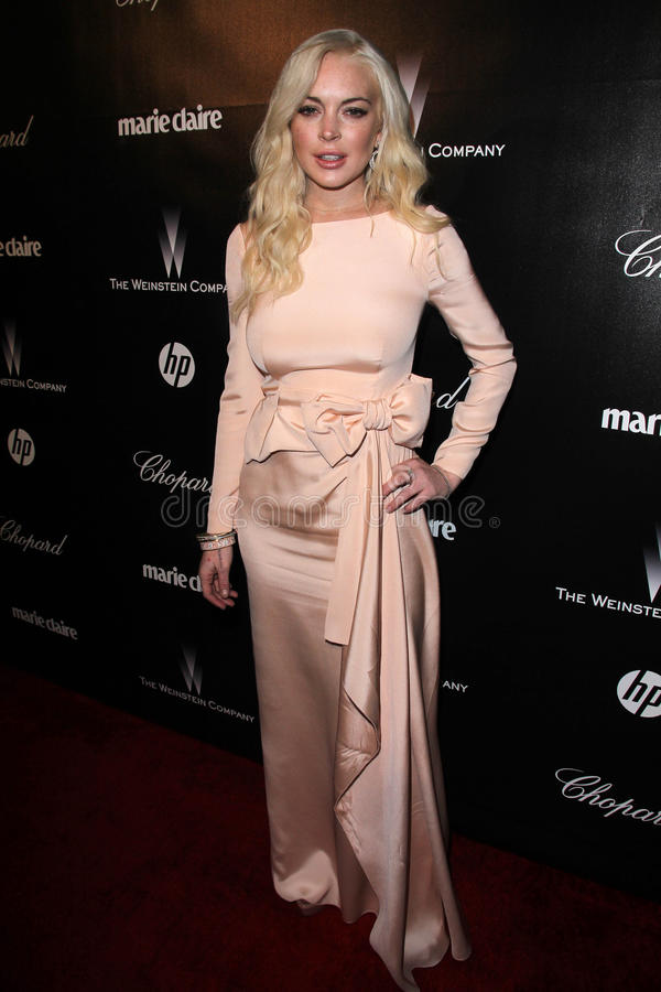 Download Lindsay Lohan editorial image. Image of party, hotel - 23089275