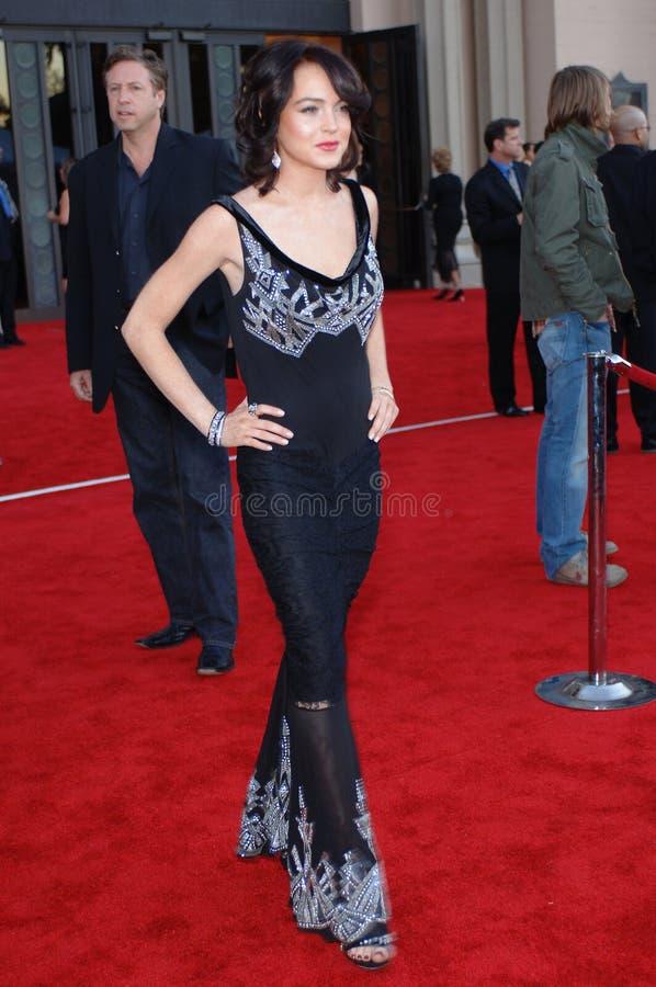 Download Lindsay Lohan editorial image. Image of awards, angeles - 25674705