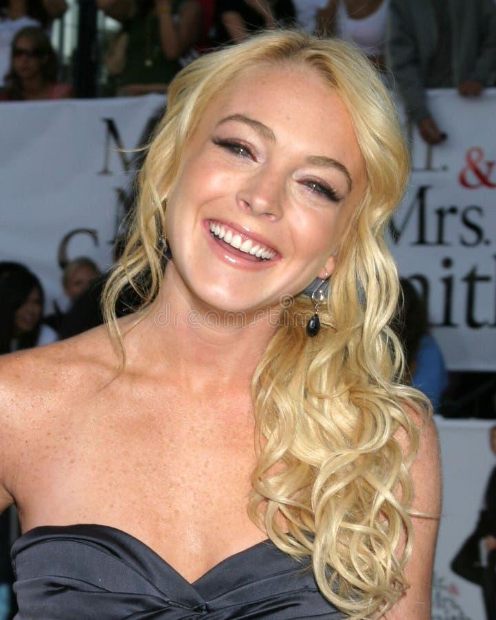 Lindsay Lohan royaltyfri foto