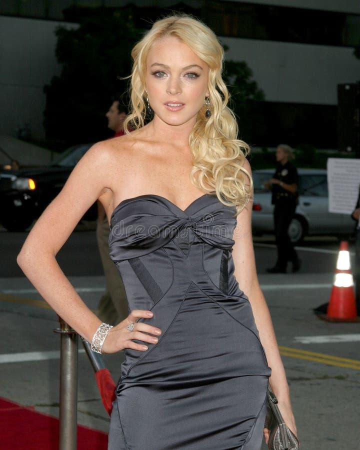 Lindsay Lohan 免版税库存图片