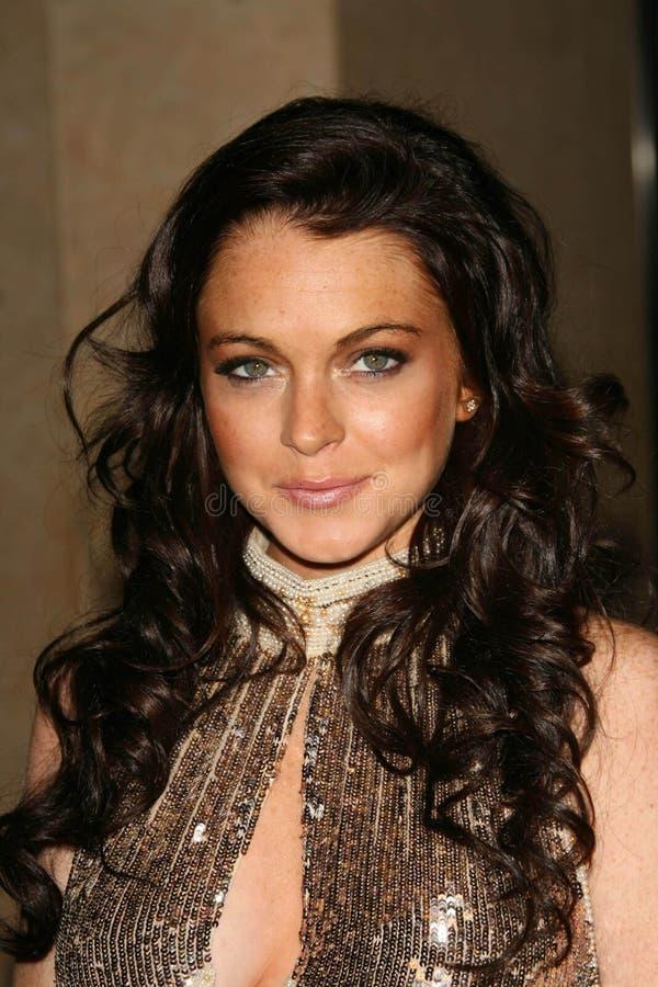 Download Lindsay Lohan redaktionelles stockfotografie. Bild von george - 26357487