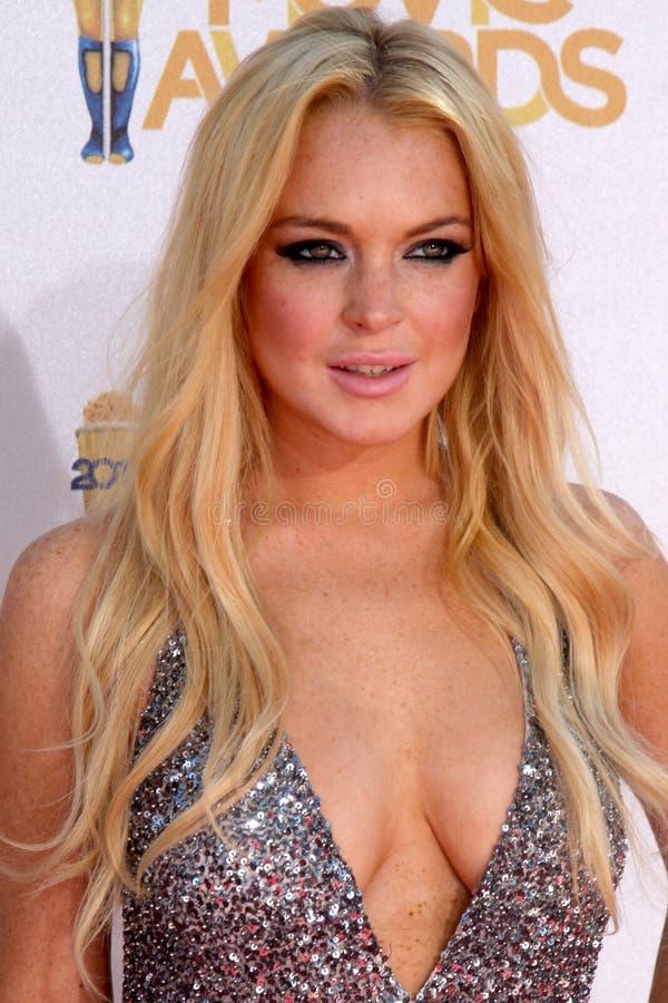 Lindsay Lohan image stock