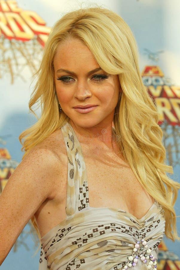 Lindsay Lohan royaltyfri bild