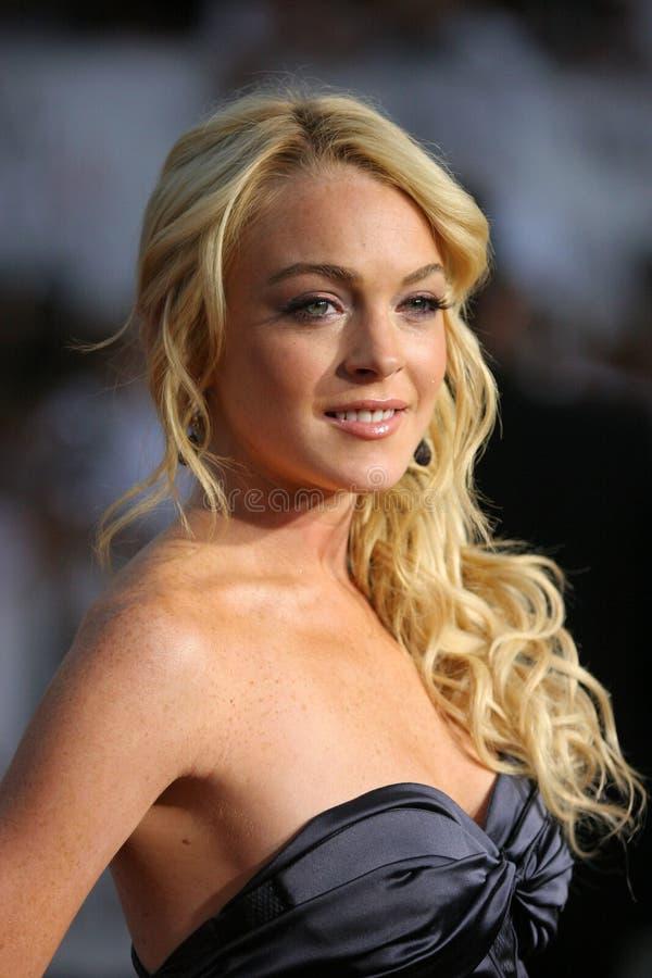 Lindsay Lohan immagine stock libera da diritti