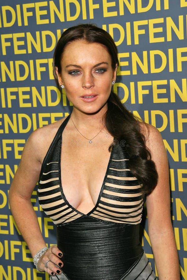 Lindsay Lohan arkivbilder