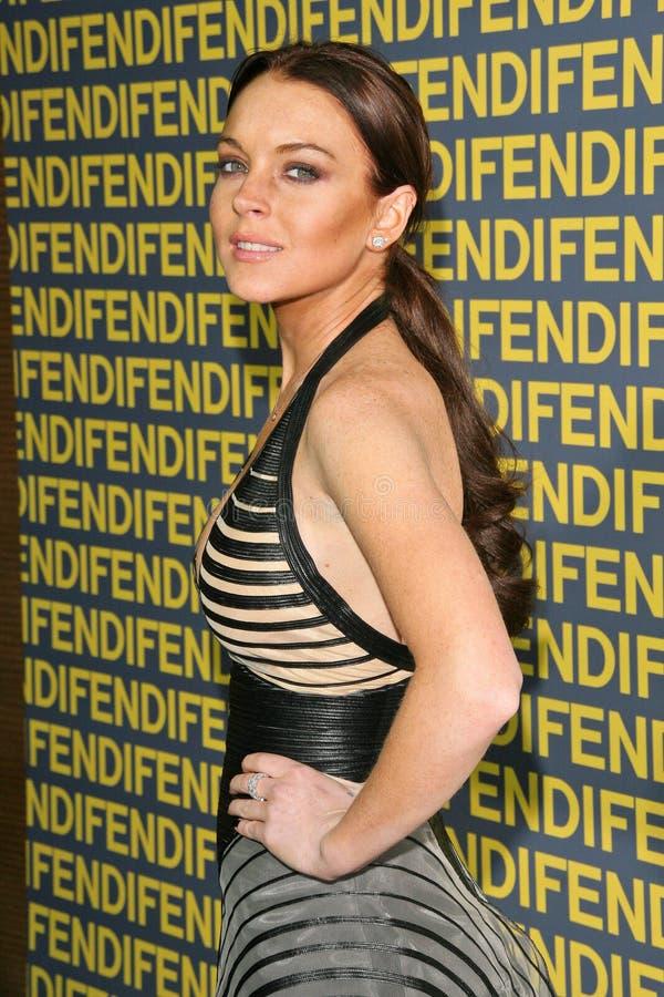 Lindsay Lohan fotografia stock libera da diritti