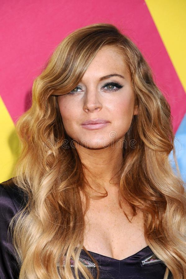 Lindsay Lohan immagini stock libere da diritti